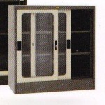 Lemari Arsip 1/2 Tinggi 2 Pintu Sliding Kaca