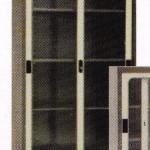Lemari Arsip Tinggi 2 Pintu Sliding Kaca