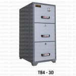 Fire Resistant Filling Cabinet TB4-3D