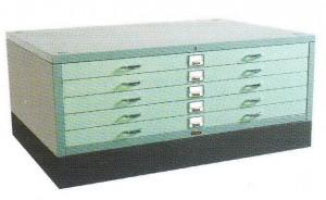 Horizontal Plan File Cabinet Lion L.23 A