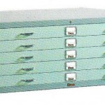 Horizontal Plan File Cabinet Lion L.23 B