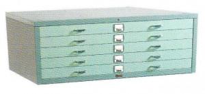 Horizontal Plan File Cabinet Lion L.23 B