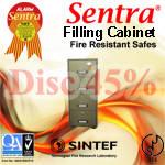 brankas fire resistant safe sentra -1