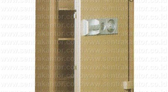brankas fire proof document safe uchida type bk-195 changeable