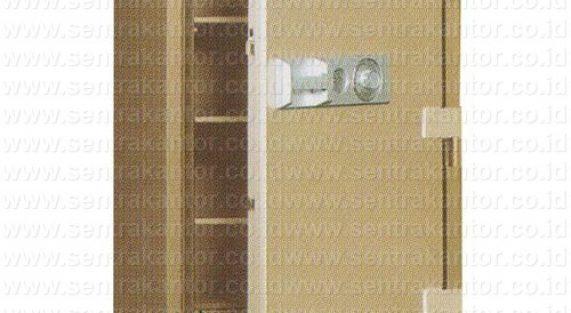 brankas fire proof document safe uchida type bk-370 changeable