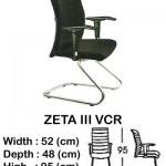 Kursi Director & Manager Indachi ZETA III VCR