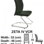 Kursi Director & Manager Indachi ZETA IV VCR
