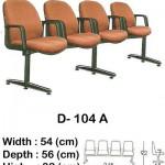 Kursi Public Seating Indachi D- 104 A