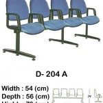 Kursi Public Seating Indachi D- 204 A