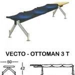 Kursi Public Seating Indachi VECTO - OTTOMAN 3 T