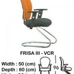 Kursi Staff & Secretary Indachi FRISA III – VCR