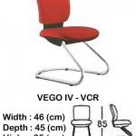 Kursi Staff & Secretary Indachi VEGO IV – VCR