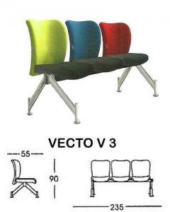 Kursi Public Seating Indachi VECTO V 3