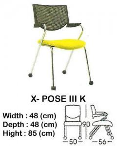 Kursi Utility Indachi X- POSE III