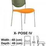 Kursi Utility Indachi X- POSE IV