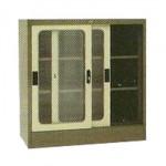 Lemari Arsip 2 Pintu Sliding Kaca ½ Tinggi Type EL-432