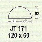 Meja Kantor Modera JT 171