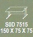 Meja Kantor Modera S0D 7515