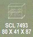 Meja Kantor Modera SCL 7493