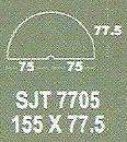 Meja Kantor Modera SJT 7705