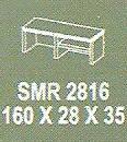 Meja Kantor Modera SMR 2816