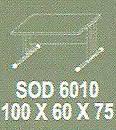 Meja Kantor Modera SOD 6010