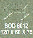Meja Kantor Modera SOD 6012