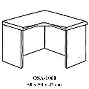 Rak Sudut Resepsionis Orbitrend Type OSA-1060
