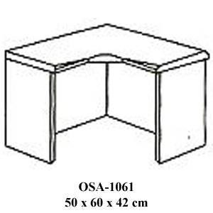 Rak Sudut Resepsionis Orbitrend Type OSA-1061