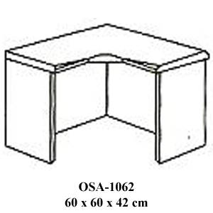 Rak Sudut Resepsionis Orbitrend Type OSA-1062