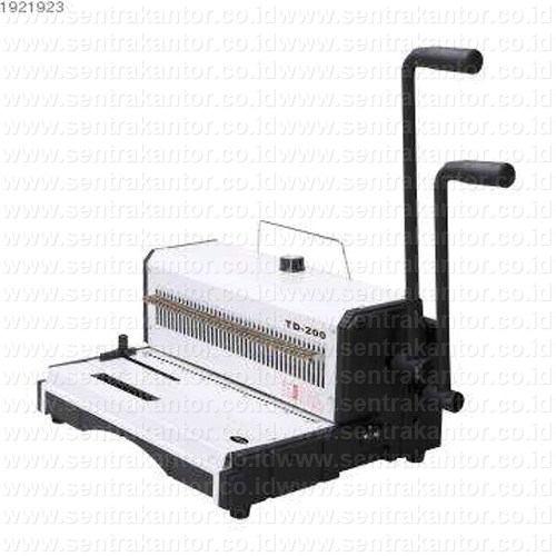 mesin binding (jilid) topas type td 200