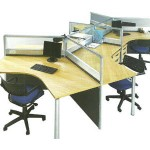 Partisi Kantor Modera Workstation 3-Series 1