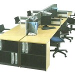 Partisi Kantor Modera Workstation 3-Series 2