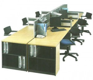 Partisi Kantor Modera Workstation 3-Series 2