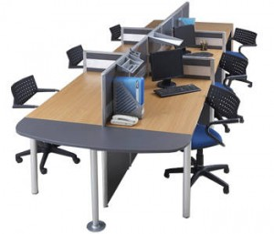 Partisi Kantor Modera Workstation 3-Series 3