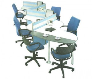 Partisi Kantor Modera Workstation 3-Series 4