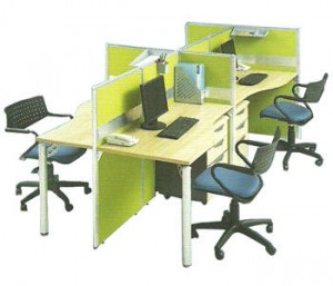 Partisi Kantor Modera Workstation 3-Series 5