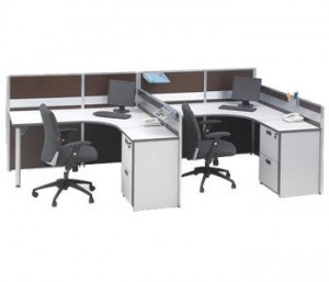 Partisi Kantor Modera Workstation 3-Series 6