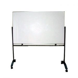 Papan Tulis (Whiteboard) Sentra Double Face (Stand) 120 x 180 cm