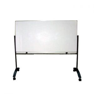 Papan Tulis (Whiteboard) Sentra Single Face (Stand) 90 x 180 cm