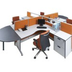 Partisi Kantor Modera Workstation 5-Series 1