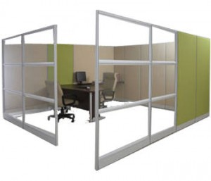 Partisi Kantor Modera Workstation 5-Series 2