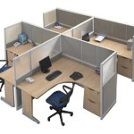 Partisi Kantor Modera Workstation 5-Series 3