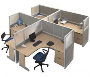 Partisi Kantor Modera Workstation 5-Series 3