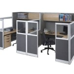 Partisi Kantor Modera Workstation 5-Series 4