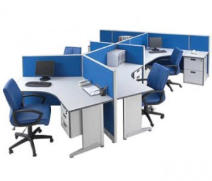 Partisi Kantor Modera Workstation 5-Series 5