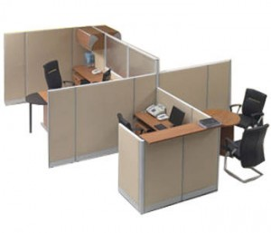 Partisi Kantor Modera Workstation 5-Series 6