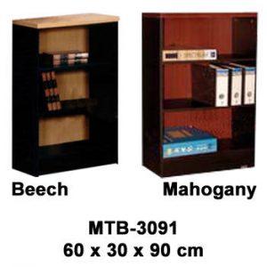 Rak Buku Kecil Tanpa Pintu Type MTB-3091