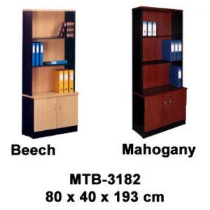 Rak Buku Tanpa Kaca Type MTB-3182