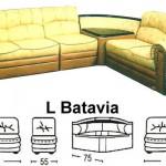 Sofa L Sentra Type L Batavia